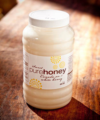 1kg jar of raw honey