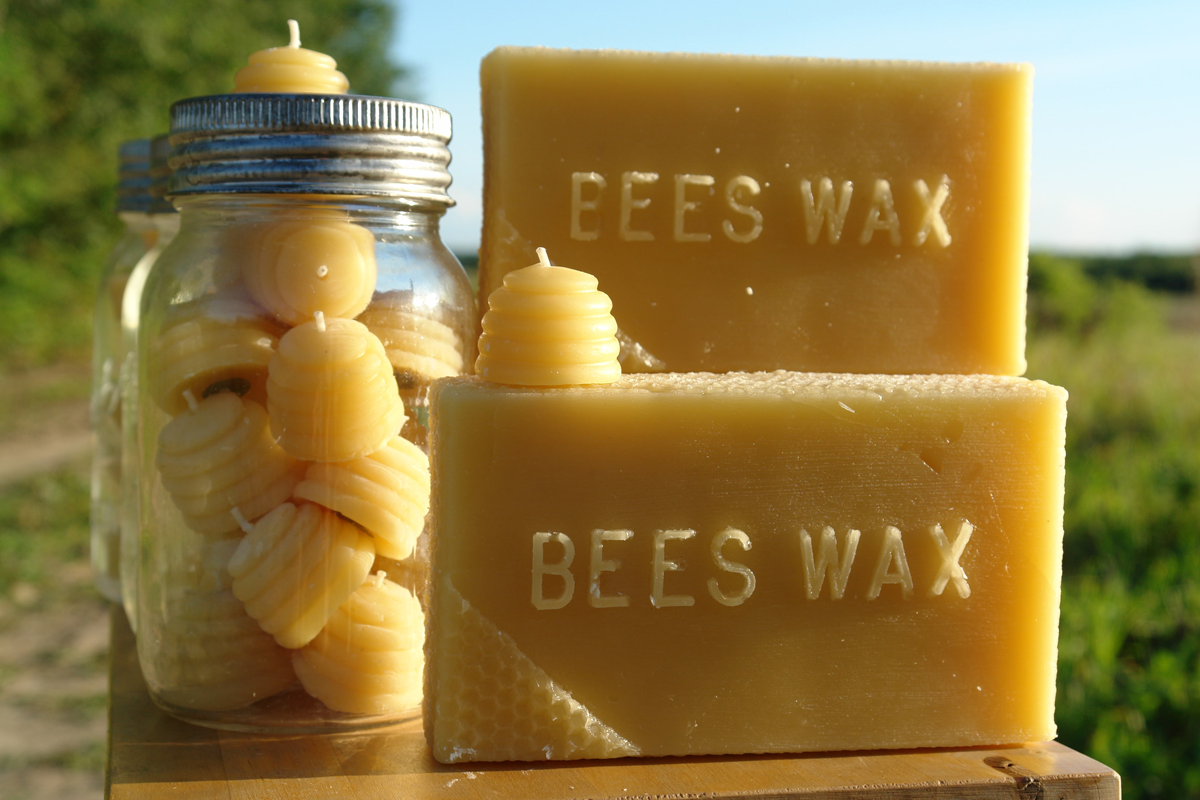 Sweet Pure Honey BeeHive Candles