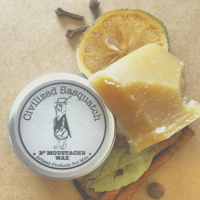Beeswax Moustache Wax