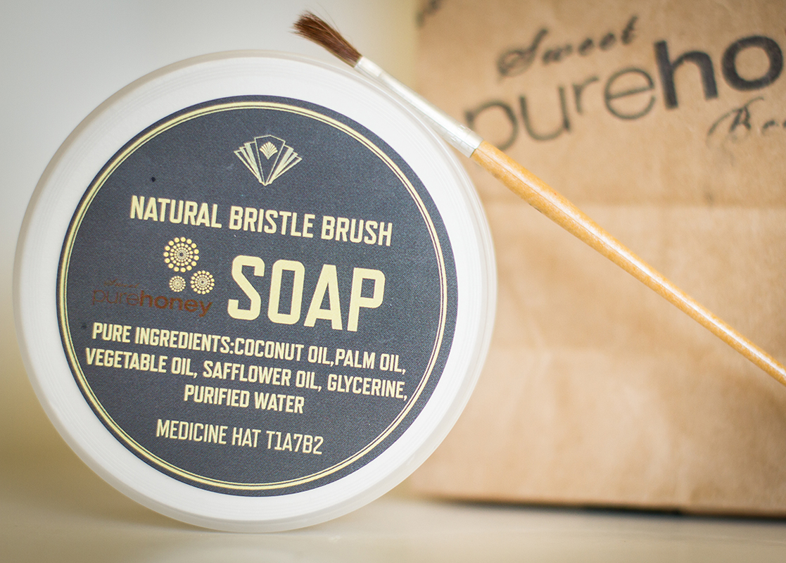 Natural Bristle Brush Soap