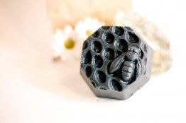 Activated Charcoal with Raw Honey Soap