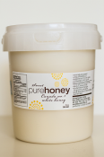(2) 3 kg Raw Honey