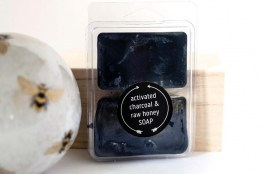 Honey Activated Charcoal Travel Size Soap