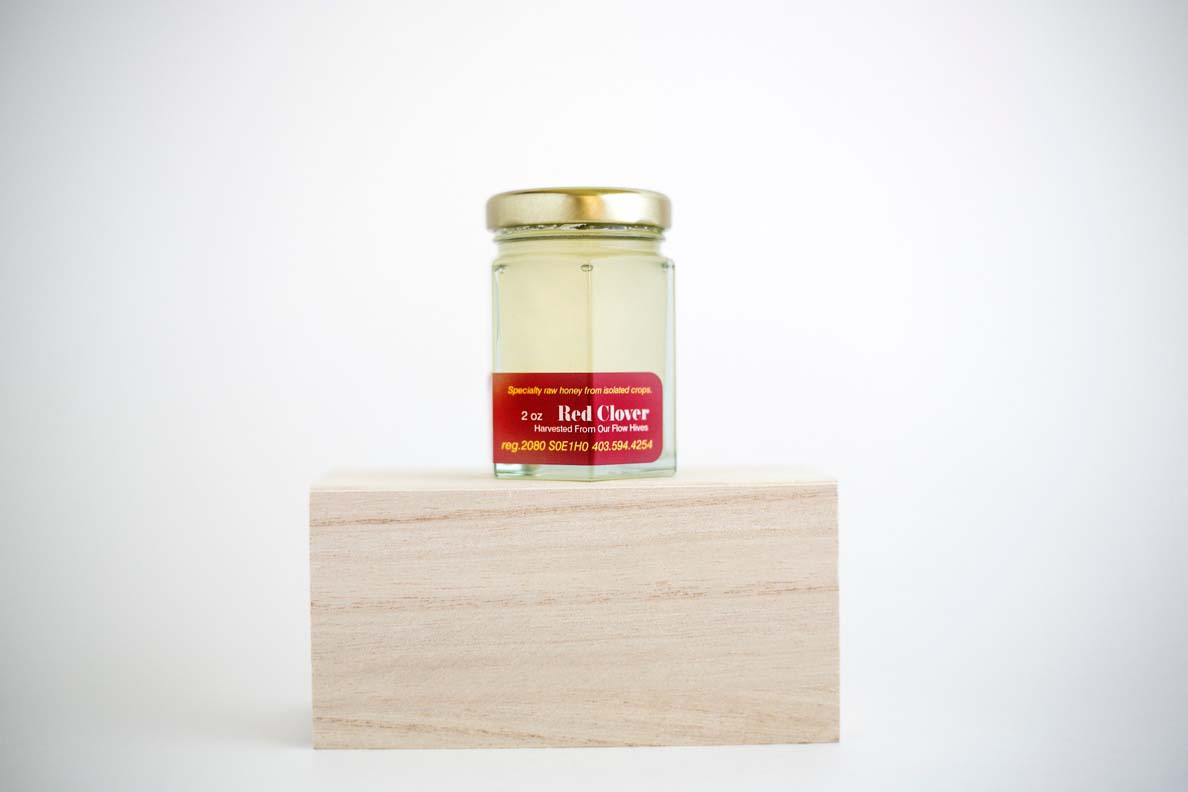 Sweet Pure Red Clover Raw Honey